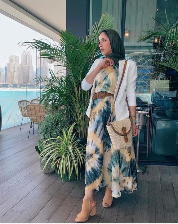ريهام خليفة تلهمك 10 إطلالات مختلفة لملابس عيد الفطر 2019