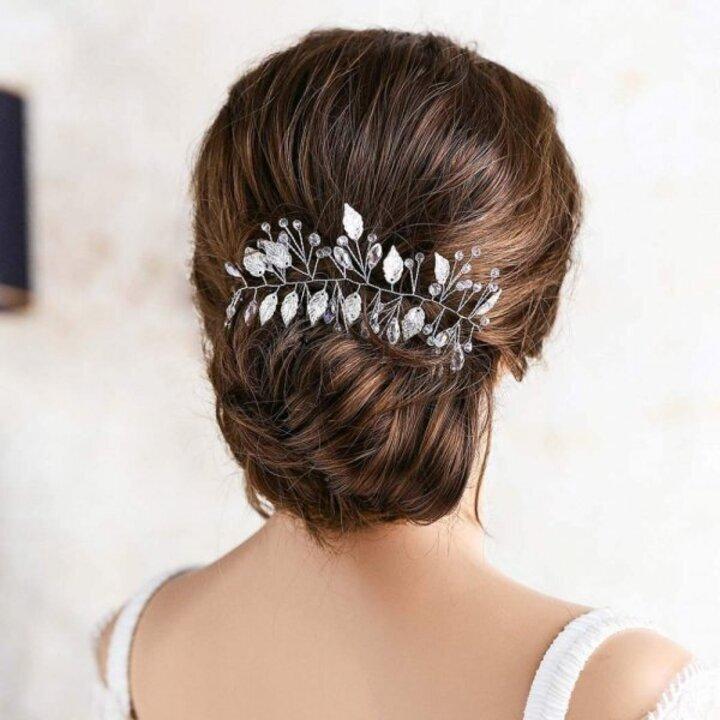 التوقيت المناسب لصبغ شعر العروس