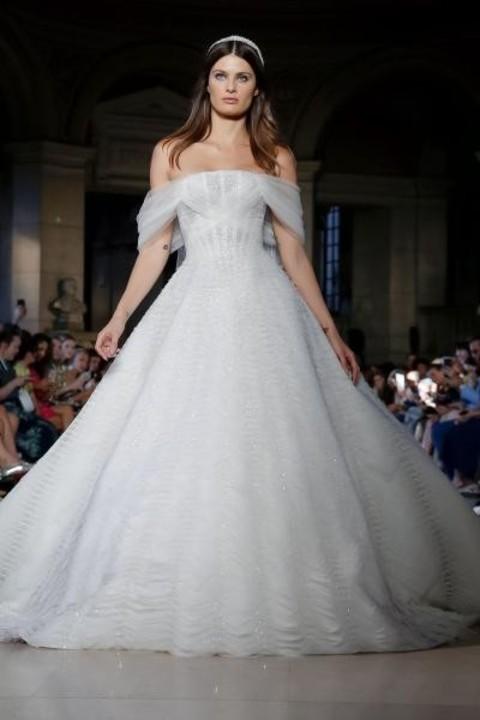 أحدث فساتين زفاف لبنانية فخمة 2019/ 2020