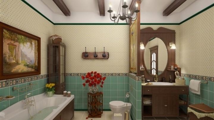 الخشبي أبرزها.. 6 أفكار جديدة لتصميم الحمامات.. تعرفي عليها