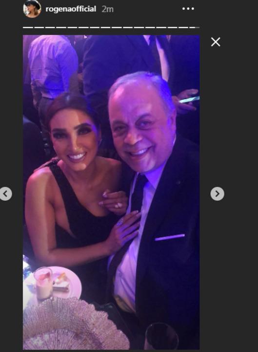 بـ الشراشيب والترتر.. روجينا تخطف الأنظار فى حفل زفاف احمد فهمى وهنا الزاهد