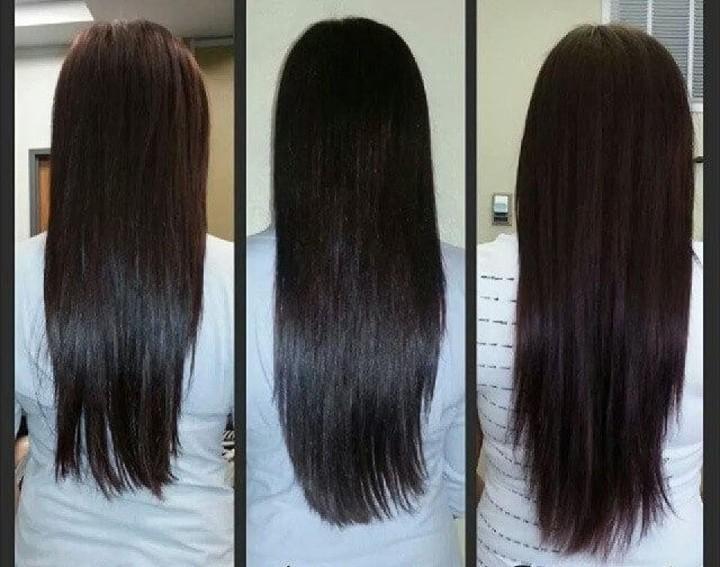خلطات لتطويل وتكثيف الشعر بسرعة