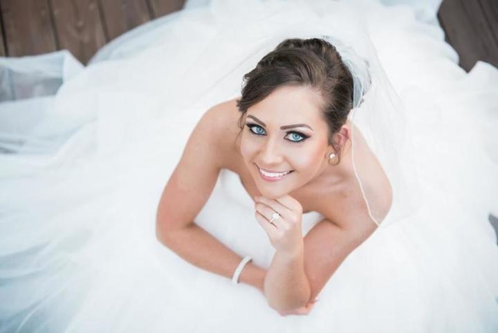 مكياج عروس ترابي يناسب عروس الشتاء
