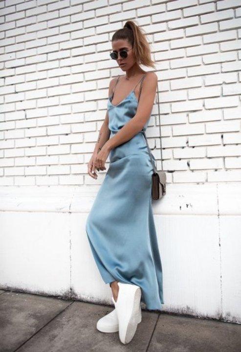 تنانير وفساتين حرير أبرز صيحات الموضة وهكدا تنسقينها بأجمل الطرق