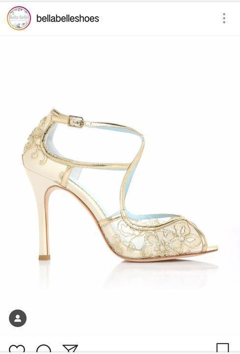 حياة تختار لكِ أرقى و أشيك أحذية الزفاف