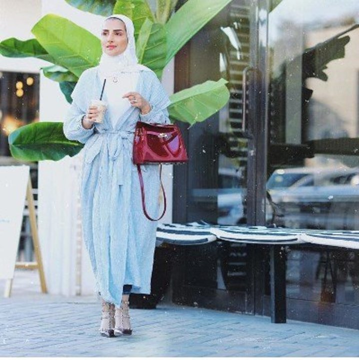 799ecaf6d فساتين محجبات لإطلالة رمضان2019 من المدونة سهر فؤاد