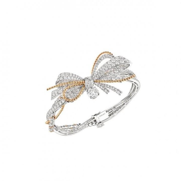 أجمل مجوهرات العروس بتصميم الفيونكة