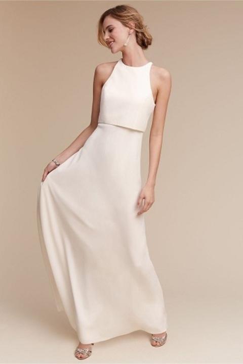 أحدث تصميمات فساتين وصيفات العروس بألوانها الجذابة والعصرية