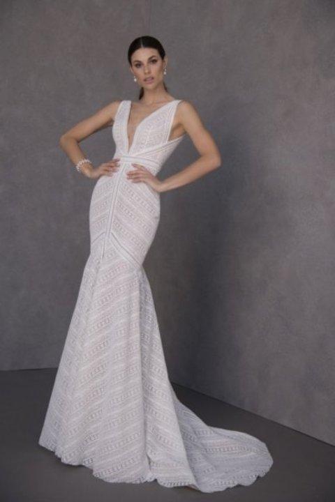 ابرز عروض اسبوع الموضة العرائسي في نيويوك لموسم ربيع/صيف 2020