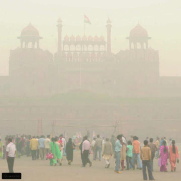 شاهد من الطائرة: هكذا تبدو أكثر مدن العالم تلوثاً