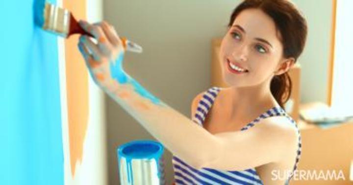 5 طرق للتخلص من بقع الدهان على بشرتك