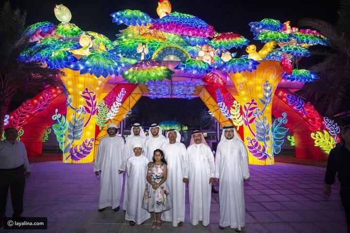دبي تزدان بحديقتها المتوهجة، وهذا جديد الموسم الخامس