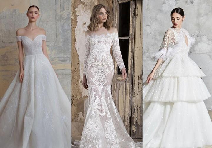 أجمل فساتين اعراس لبنانية 2020