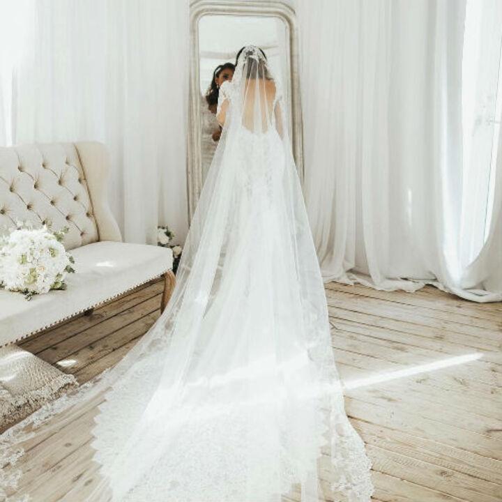 اكتشفي طرحة الزفاف المُناسبة لوجهك
