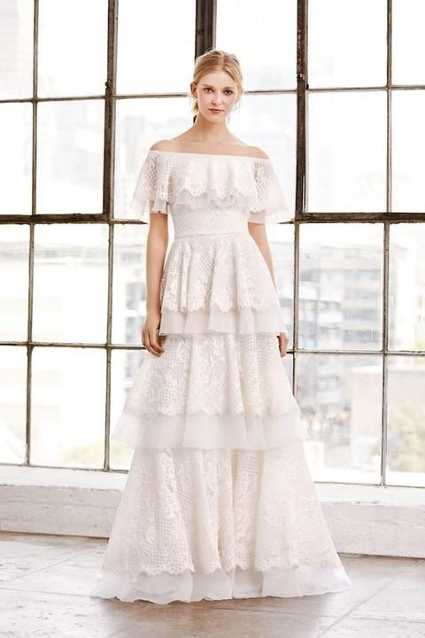 هذه هي صيحات فساتين زفاف صيف 2019!
