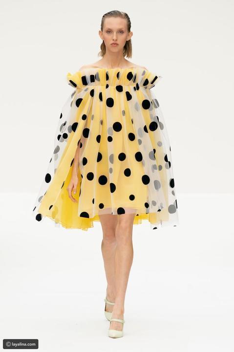 Carolina Herrera تمزج بين القديم والحديث في أسبوع الموضة في نيويورك