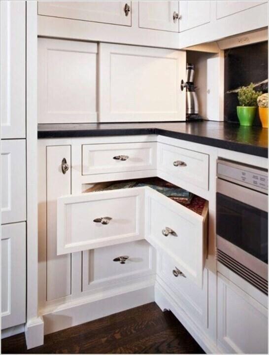 حيل ذكيّة لتزيدي من مساحات التخزين في مطبخك