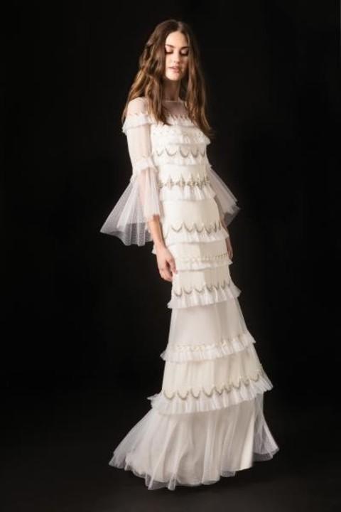 ابرز صيحات فساتين الزفاف من مجموعات ربيع وصيف 2020