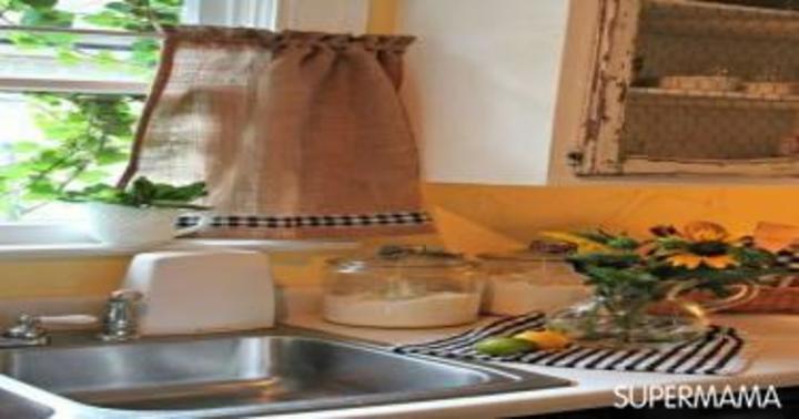بالصور: أحدث موديلات ستائر المطبخ وكيف تشتريها