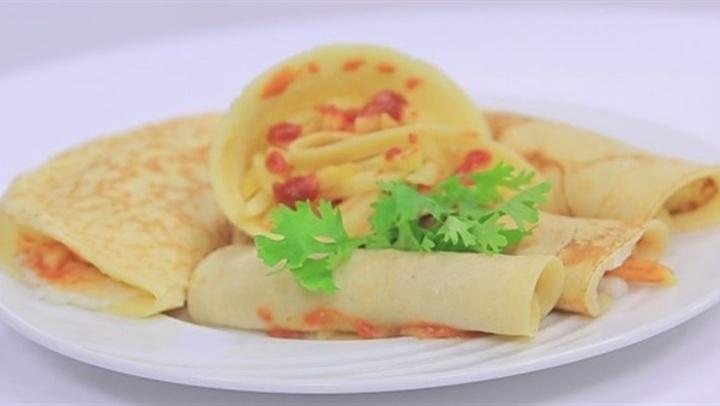 طريقة عمل بان كيك البطاطس لنجلاء الشرشابى