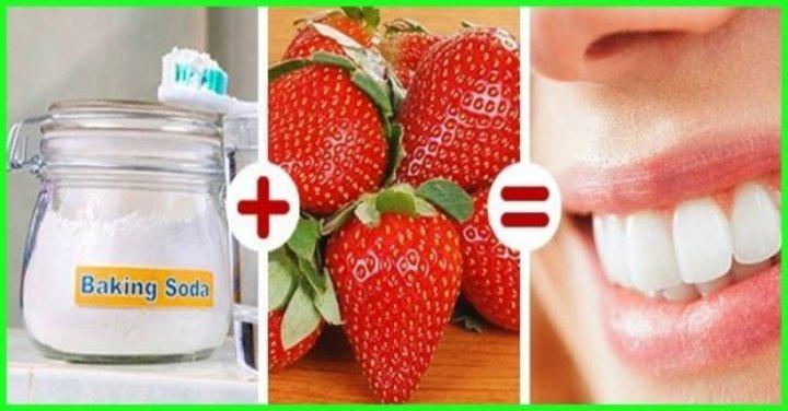 خلطات طبيعية لتبييض الاسنان
