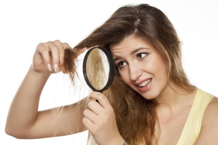 ماسك البيوتين لتكثيف الشعر الخفيف