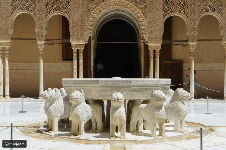 ماذا تعرفون عن تاريخ الأندلس؟ لغز نافورة قصر الحمراء الأندلسي