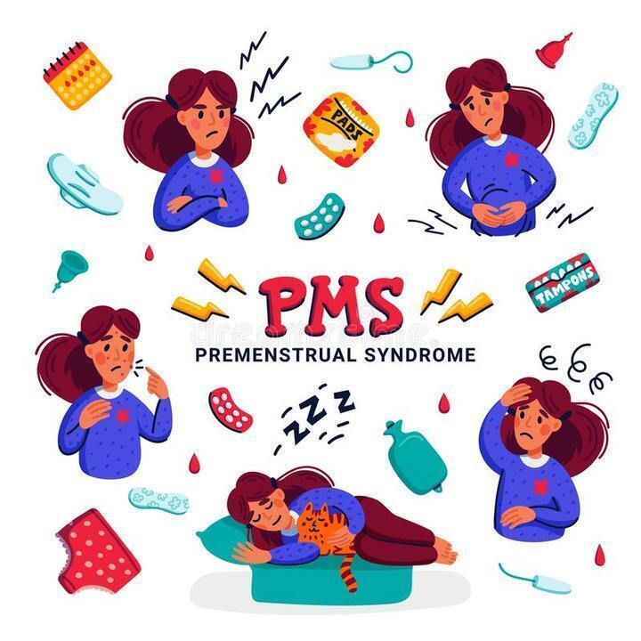 9 خطوات للتقليل من حدة اعراض متلازمة ما قبل الدورة الشهرية