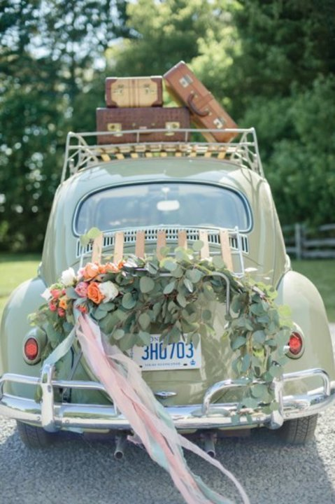 10 افكار مبتكرة لتزيين سيارة العروس 2019