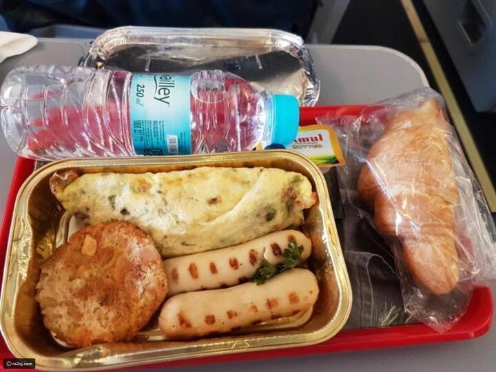 صور: أسوأ الوجبات التي قدمت على متن الطائرات..قد تصيبك باضطراب المعدة