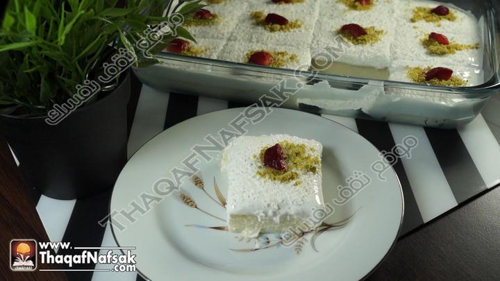 وصفة حلى ليالي لبنان بالصور