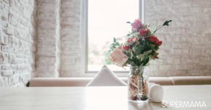 بالفيديو: طريقة تنسيق الزهور لطاولة الطعام | سوبر ماما