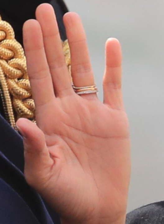 ميغان ماركل وكايت ميدلتون معاً في عيد الملكة اليزابيث...