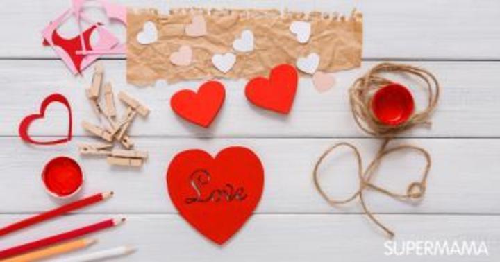 ٧ مشغولات يدوية لعيد الحب