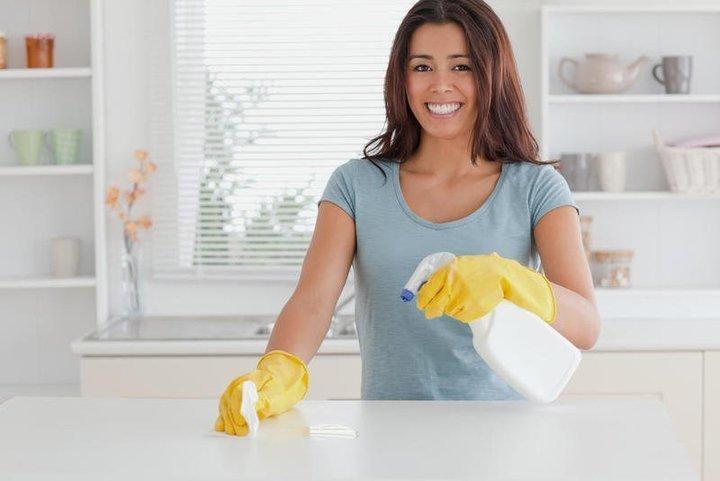 خطوات تنظيف رخام المطبخ