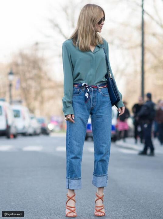 حتى لا تشعرين بالملل، إليكي طرق مختلفة لارتداء الجينز في فصل الخريف