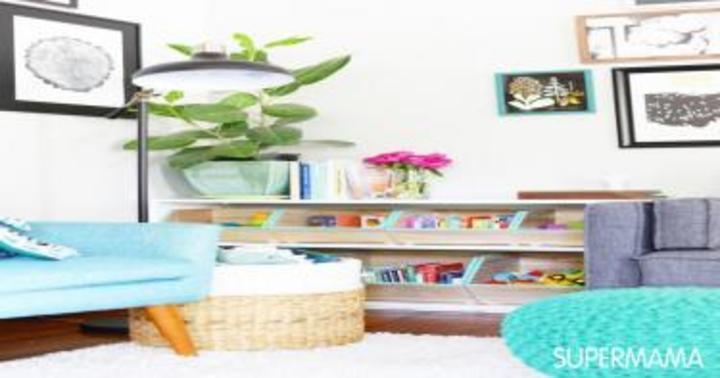 13 طريقة أنيقة لتخزين ألعاب أطفالكِ   سوبر ماما