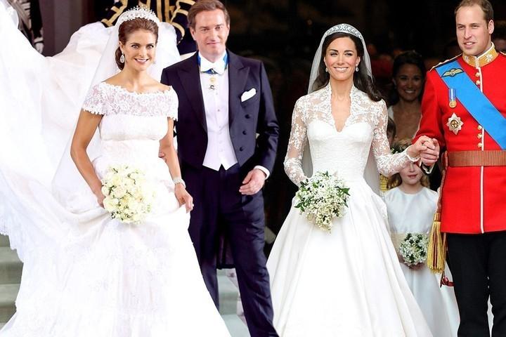 فساتين زفاف ملكات وأميرات الأجمل في التاريخّ!