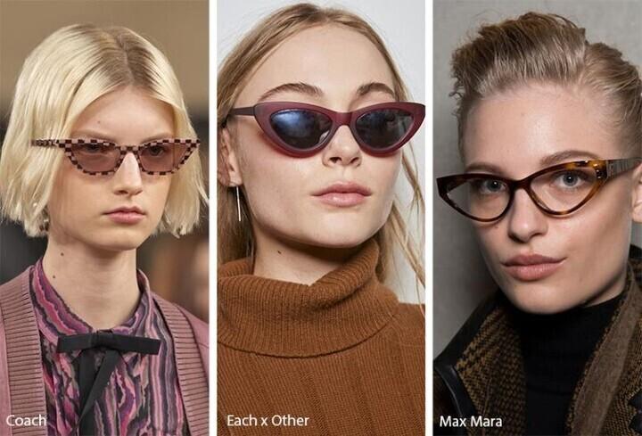 صيحات النظارات الشمسية الرائجة لخريف وشتاء 2019 /2020