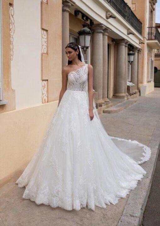 فساتين زفاف كتف واحد خريف 2020