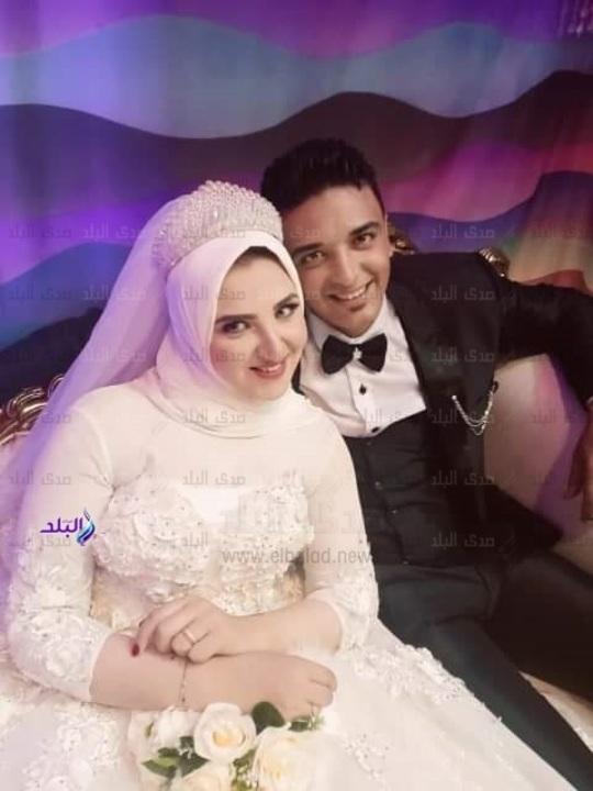 قصة حب أسماء وابراهيم تتوج في حفل زفاف عائلي .. صور