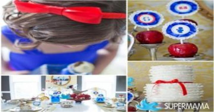 بالصور أفكار مبتكرة لحفلات أعياد ميلاد الأطفال