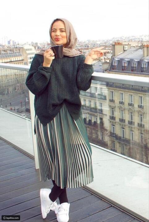 تنورة واحدة تكفي في الخريف