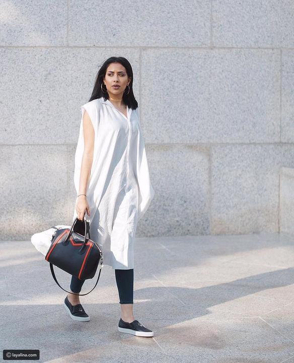 صور إطلالات فرح الهادي الكاجوال المبهجة تفتتح موضة أزياء الصيف