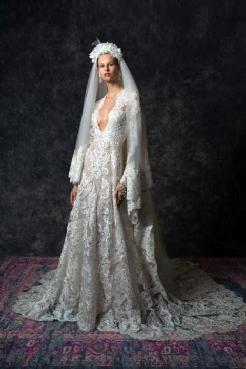 فساتين زفاف نعيم خان 2020