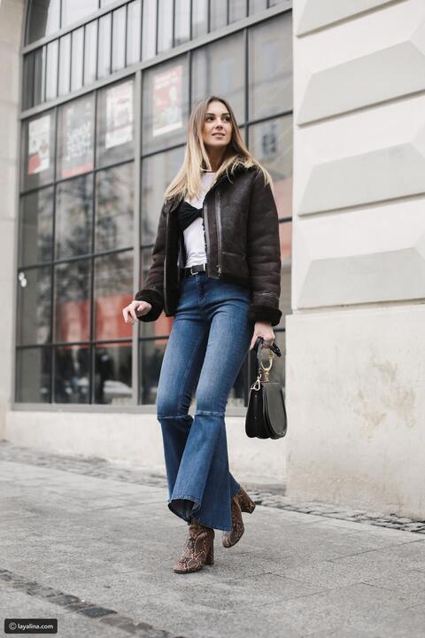 كيف ترتدي حذاء الكاحل بشكل عصري في الخريف والشتاء ؟