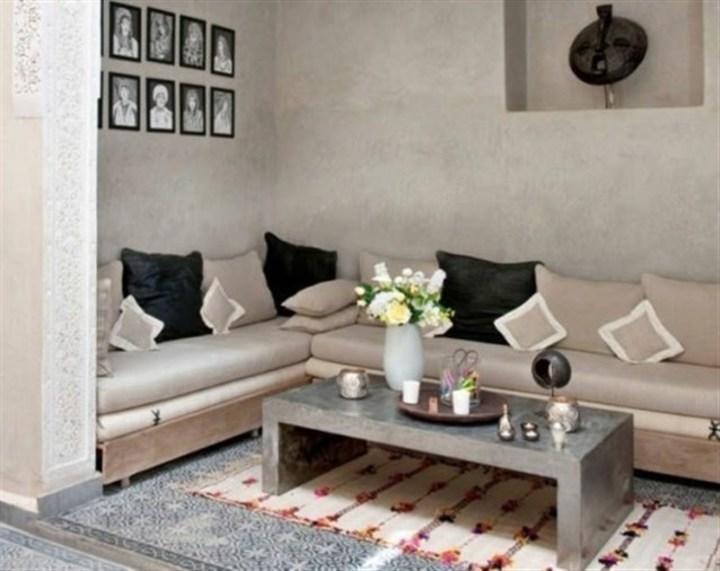 بالصور... جلسات عربية مودرن ومريحة تليق بصالة منزلك!