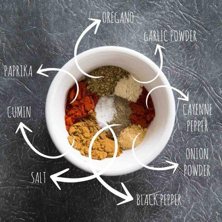 طريقة عمل بهارات السمك والدجاج واللحم
