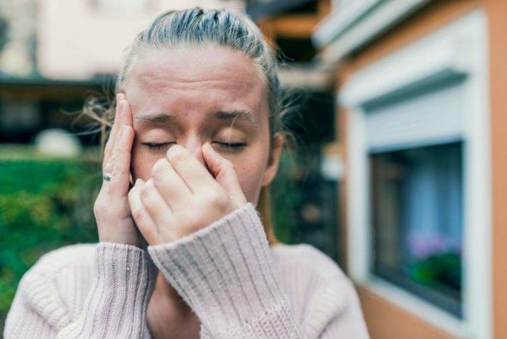 اعراض حساسية الانف والجيوب الانفية