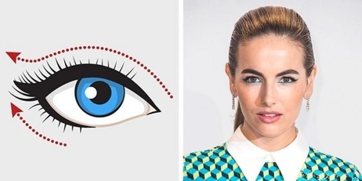 لكل عين رسمة.. بالصور الطريقة الصحيحة لوضع الآى لاينر حسب شكل عينك